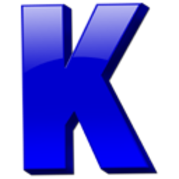 Letter K Icon | Free Images at Clker.com - vector clip art ...