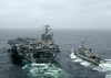 Dutch Frigate Refuels From Uss Washington Image