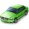 Car Sedan Green Image