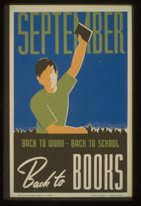 September. Back To Work--back To School, Back To Books Image
