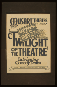 Twilight Of The Theatre  Intriguing Comedy Drama. Image