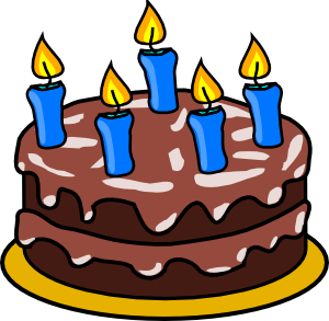 Birthday Cake 2 Clip Art