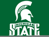 Michigan State Spartans Clipart Image