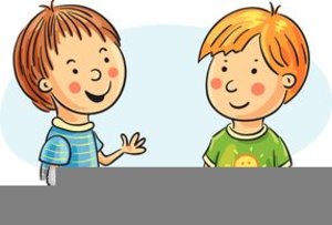 free clipart children talking free images at clker com vector