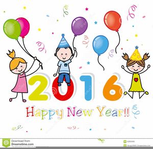 happy new year clipart for kids image