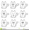 Smiley Cat Cartoon Image