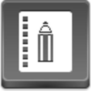 Free Grey Button Icons Book Of Record Image