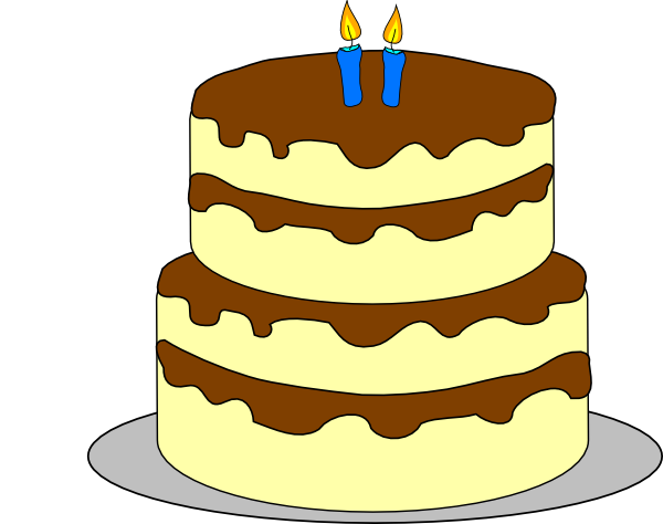 Three Layer Cake Clip Art : 4 Layer Birthday Cake Clip Art at Clker.com - vector clip ...