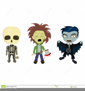 Free Kids Halloween Clipart - Free Clipart Halloween Costume, HD Png  Download , Transparent Png Image - PNGitem