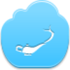 Free Blue Cloud Aladdin Lamp Image