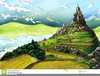 Clipart Free Mountains Green Image