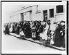 [women And Children Wait In A Bread Line In England] Image