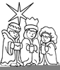 Free Clipart Three Wise Men Image