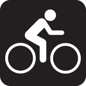 Bike Pictogram Clip Art