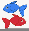One Fish Two Fish Red Fish Blue Fish Clipart Image