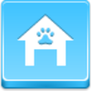 Free Blue Button Icons Doghouse Image