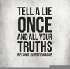 Lie Quotes Goodreads Image