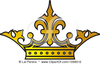 Royalty Free Vector Clip Art Illustration Of An Ornate Crown Image