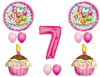 Seventh Birthday Clipart Image