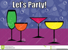 Free Clipart Party Drinks Image