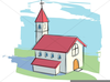 Church With Steeple Clipart Image