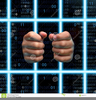 Prison Bars Hands Image