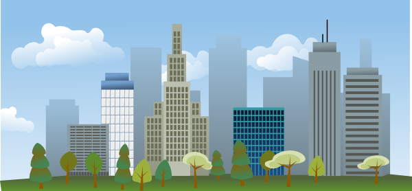 City Skyline Clip Art at Clker.com - vector clip art ...