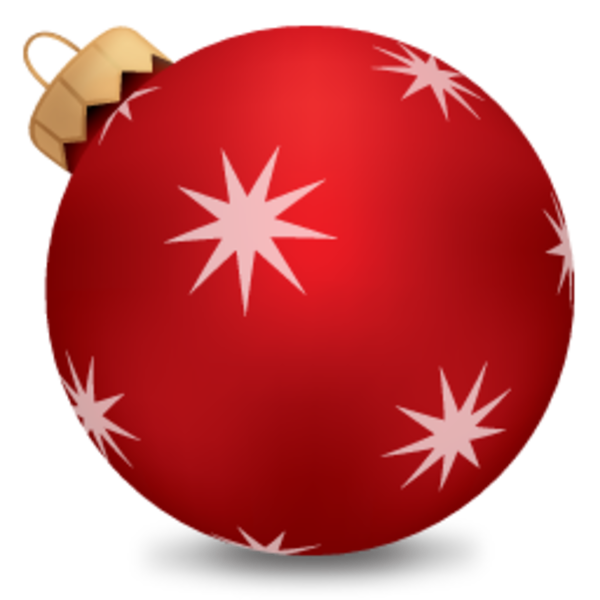 Christmas ball red 1 free images at vector for Weihnachtskugeln transparent