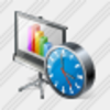 Icon Screen Clock Image