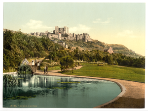 [the Castle From The Park, Dover, England] Image