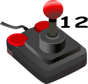 Joystick Twelve Clip Art