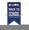 Welcome Back To School Free Clipart Image