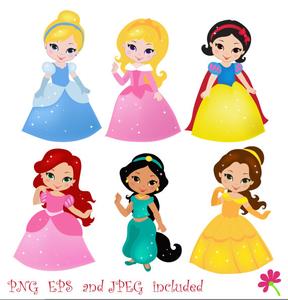 Disney Free Clipart Princess   Free Images at Clker.com ...