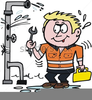 Leaky Pipe Clipart Image