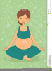 Clipart Exercise Pregnancy Image