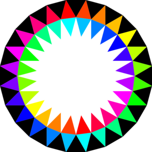 Rainbow Colors Clip Art