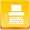 Free Yellow Button Typewriter Image