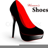Free Clipart Of High Heel Shoes Image