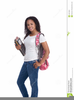 African American Education Clipart Image