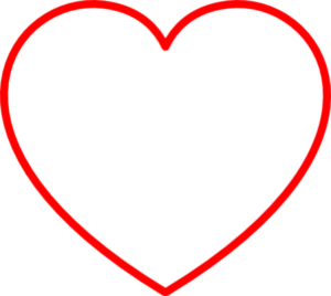 Red Heart Clipart Red Heart Outline Md | Free Images at ...