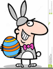 Free Animated Easter Bunny Clipart Image