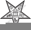 Eastern Star Emblems Clipart Image