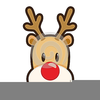 Animated Rudolph The Red Nosed Reindeer Clipart Image