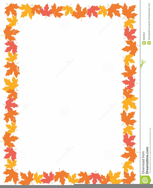 Fall Foliage Border Clipart | Free Images at Clker.com - vector ...