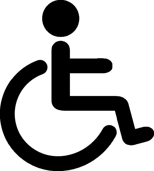Handicapped Icon Clip Art At Clker Vector Clip Art Online