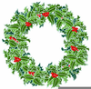 Christmas Holly Clipart Transparent Image