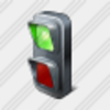 Icon Traffic Lights Green 1 Image
