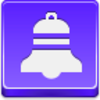 Free Violet Button Christmas Bell Image