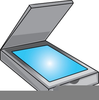 Computer Scanner Clipart Image