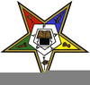 Masonic Eastern Star Clipart Image